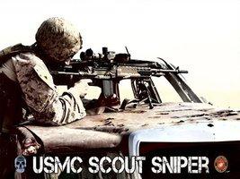 Usmc Poster Marine Sniper Scout Sniper Usmc Usmc Gifts 18 X24 (Usmc10) - $19.99