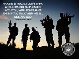 USMC Poster Marine Corps Poster USMC Gifts General James Mattis 24x36 (USMC23) - $29.99