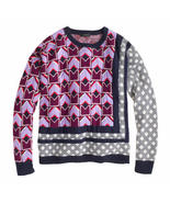 NWOT J.Crew J Crew Mixed Pattern Sweater XXS  - $75.00