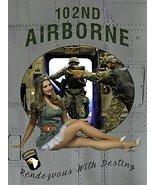 102nd Airborne Poster Pinup Poster Military Pinup Army Pinup 24x36 - $29.99