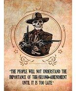 2nd Amendment Poster Gun Rights Poster Gun Poster 18x24 - $19.99