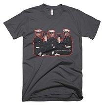 Marine Corps Vintage T-Shirt (XX, Asphalt) - $29.99