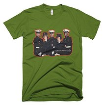 Marine Corps Vintage T-Shirt (Small, Olive) - $29.99