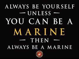 USMC Poster Marine Corps Poster Military Poster 18X24 (USMC44) - $19.99