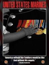 US Marines Poster Marine Corps USMC Poster Marines Gifts 18x24 (Marines V8) - $19.99