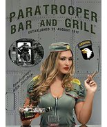 102nd Airborne Poster Pinup Poster Bar Poster Bar Sign Army Airborne 18x24 - $19.99