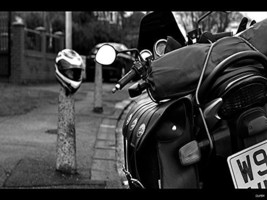 Motorcycle Poster Motorcycle Print Harley Davidson Poster 18x24 - $19.99