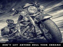 Motorcycle Poster Motorcycle Print Harley Davidson Poster Biker Gifts 24x36 - $29.00