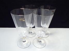 4  Mikasa South Hampton Gold Ice Tea / Iced Beverage Stems - $59.95