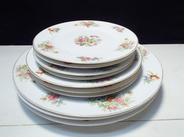 10 Monarch ( Occu Japan) SUNNYVALE Pieces~~3 Sizes of Plates / China - $34.99