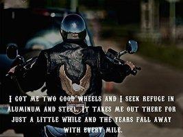 Motorcycle Poster Motorcycle Print Harley Davidson Poster Biker Gifts 18x24 - $29.99