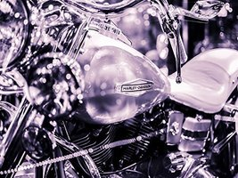 Motorcycle Poster Motorcycle Print Harley Davidson Poster 24x36 - $29.99