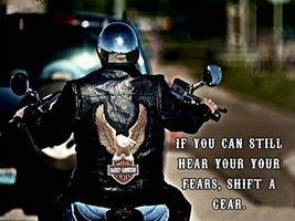 Motorcycle Poster Motorcycle Print Harley Davidson Poster Biker Gifts 24x36 - $29.99