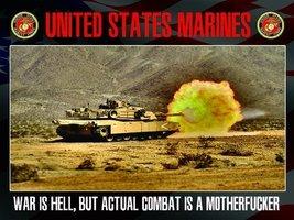 US Marines Poster Marine Corps Military Tanks USMC Military Gifts 18x24 - $19.99