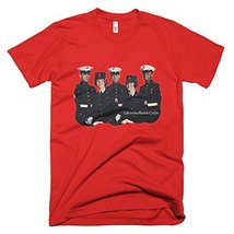 Marine Corps Vintage T-Shirt (Medium, Red) - $29.99