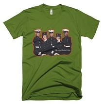 Marine Corps Vintage T-Shirt (X-Large, Olive) - $29.99