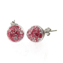 Swarvoski Multi Color Ear Studs - $7.80