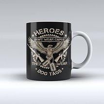 Military Mug Army Mug Patriotic Mug Coffee Mug 15OZ - $14.99