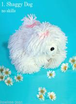 ANIMAL patterns: knit BUNNY slippers, crochet ELEPHANT, no skills requir... - $4.94