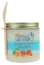 Florida Salt Scrubs Grapefruit Body Feet Hands Bath Salt Scrub 24.2 oz Jar - $29.99