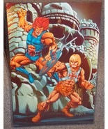 He Man vs  Lion O Glossy Print 11 x 17 In Hard ... - $24.99