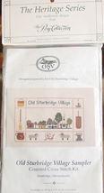 "Counted Cross Stitch Kit ""Old Sturbridge Village Sampler"" 10"" x 6.25"" 14... - $6.99"