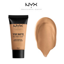 NYX Stay Matte But Not Flat Liquid Foundation Golden Beige + Tawny - $9.49