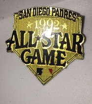 SAN DIEGO PADRES 1992  ALL STAR GAME LAPEL PIN - $5.54