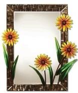 DecoFlair Metal Wall Mirror Daisies - $54.99+