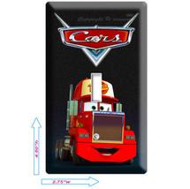 Disney's Cars 2 Mack Truck Single Light Switch Plate Boys Game Room Decoration - $7.99