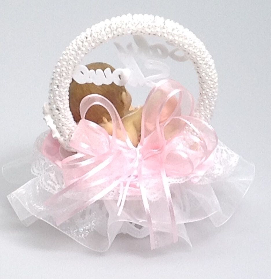 Baby Girl on a pillow Shower Birthday Cake and 24 similar items