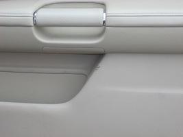 2007 INFINITI M35 RIGHT FRONT DOOR TRIM PANEL  image 2