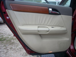 2007 INFINITI M35 LEFT REAR DOOR TRIM PANEL