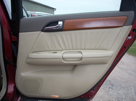 2007 INFINITI M35 RIGHT REAR DOOR TRIM PANEL