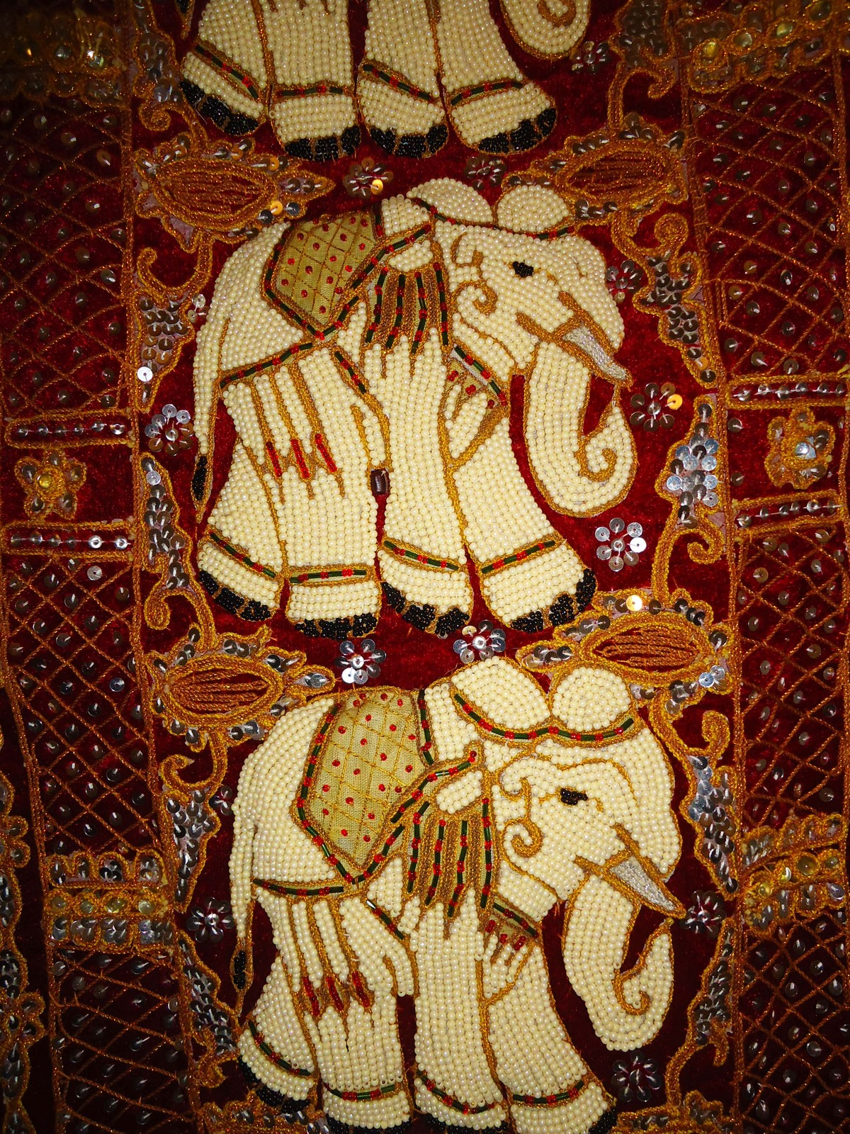 Huge wall hanging GORGEOUS Elephant Hand and similar items