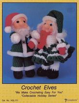 Crochet Elves, Td Creations Christmas Doll Clothes Pattern Booklet HOL-7... - $5.95