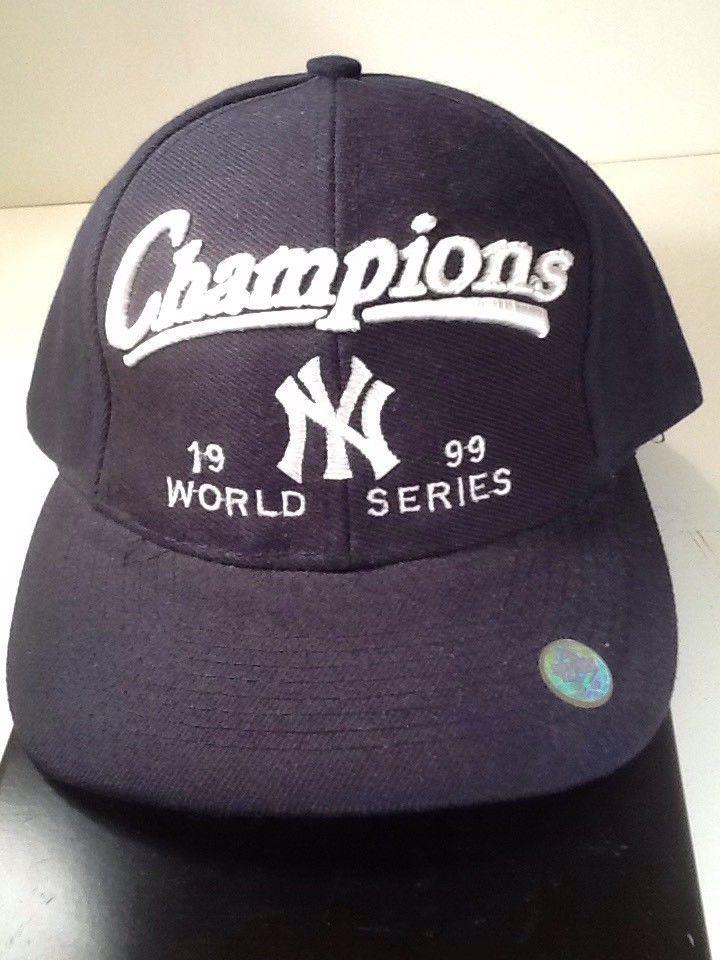 3642537ba4d9e S l1600. S l1600. Previous. Vintage New York Yankees Baseball Cap - 1999  World Series Champions - Black