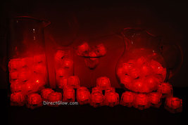 Set of 72 Red Litecubes Brand 3 Mode Light up LED Ice Cubes - $119.95