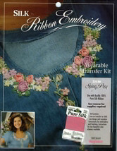 Silk Ribbon Embroidery Transfer~SPRING POSY - $3.50