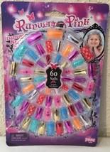Runway Pink Dazzling Nails Set - Play Fake Nails - Birthday Party Fun Favors - $5.15