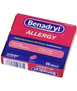 Benadryl Allergy 48 Count Ultratab - $7.19