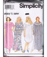 Simplicity 8780 Women's Nightgown, Robe, Tie Be... - $5.00