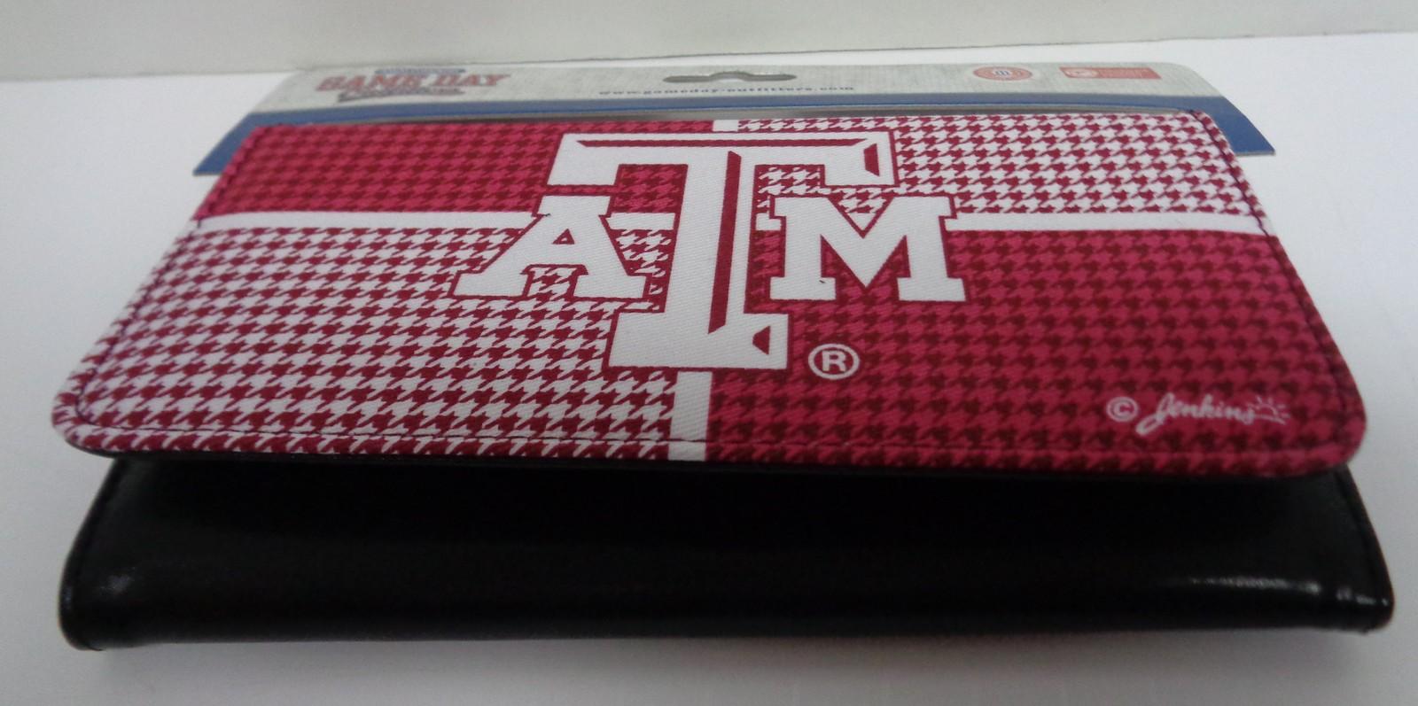 Women's Wallet Texas A&M Aggies University Ladies Billfold NIP