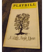 """Playbill-""""A Little Night Music""""-Glynis Johns- March 1974-Majestic Theatre - $6.65"""