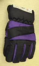 Rugged Wear Unisex Adult Black / Purple Ski Gloves UPC: 731015085040 - $131,54 MXN