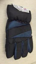 Rugged Wear Unisex Adult Black / Teal Ski Gloves UPC: 731015085040 - $131,54 MXN