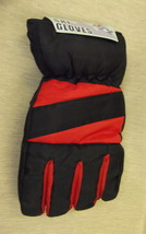 Rugged Wear Unisex Adult Black / Red Ski Gloves UPC: 731015085040 - $131,54 MXN