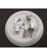 "Sunlink Stone Wash 2 Light Bulb 13"" Ceiling Fitter #BF-102024-036 UPC:71... - $11.88"