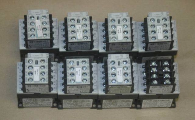 Primary image for Lot 8 Siemens sirius 3r Contactor 3ZX1012-0RH11-1AA1+3rh1911-1fa22 Contact Block