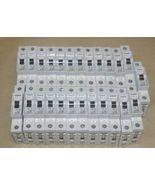 Lot of (32) SIEMENS 5SX21 TYPE C10 10A Circuit BREAKER C 230V/400V/250V/... - $199.95
